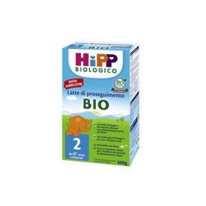HIPP BIO LATTE 2 POLVERE PROSEGUIMENTO 600G
