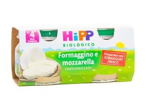 Hipp Bio Formaggino Mozzar2x80