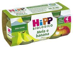 Hipp Bio Omog Mela Banana2x80g