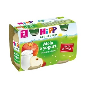 Hipp Bio Omog Mela/yogurt2x125