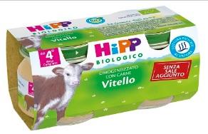 Hipp Bio Omog Vitello 80g 2pz