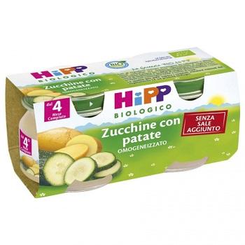 Hipp Bio Omog Zucchine/pat2x80