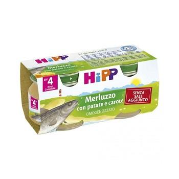 Hipp Omog Merluzzo/carote/pata
